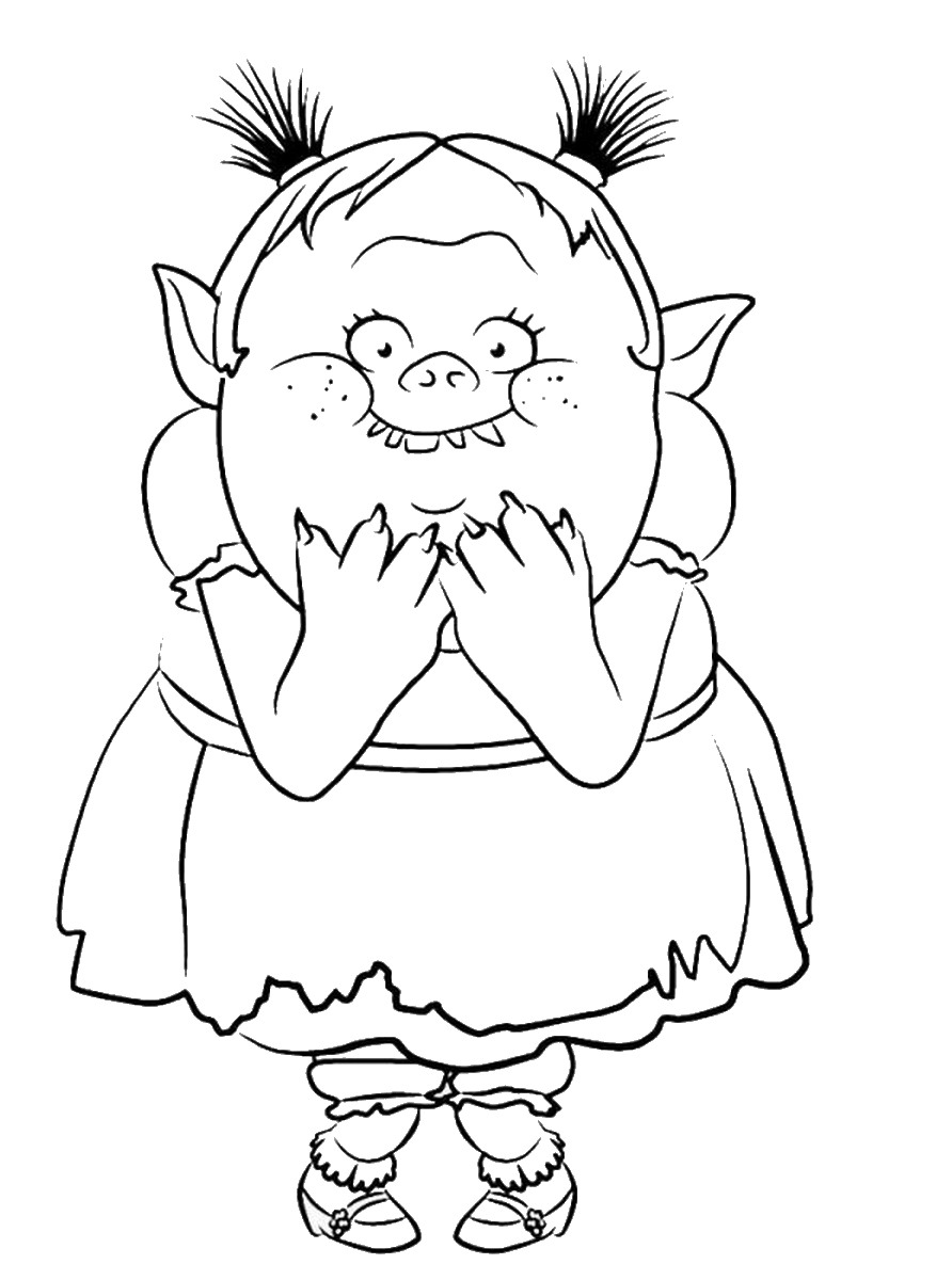 892x1200 coloring pages glamorous troll coloring pages trolls bridget