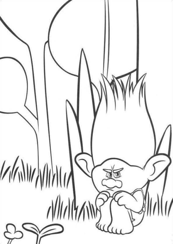 593x832 26 Coloring Pages Of Trolls On Kids N Fun.co.uk. On Kids N Fun You