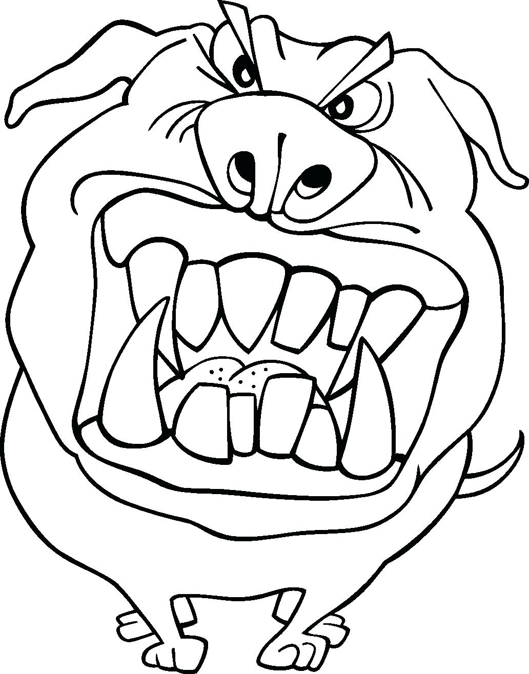 silly monster printable coloring pages - photo#29