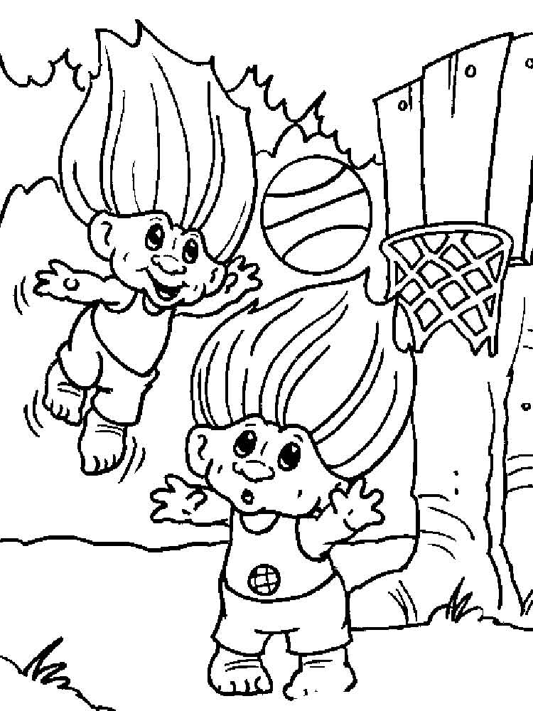Trolls Coloring Pages Free Download On Clipartmag