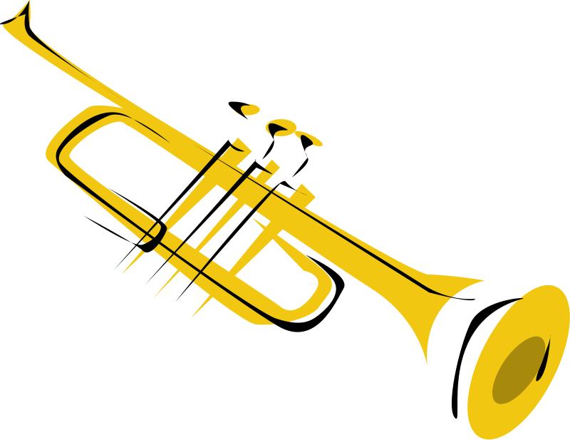 800x617 Instrument Clipart Trumpet