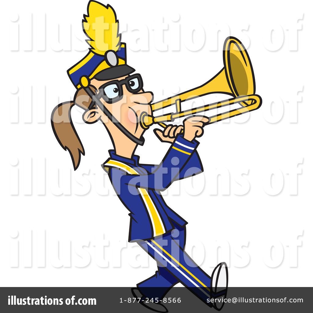 Marching Band Clipart Clarinet Trombone Clipar...