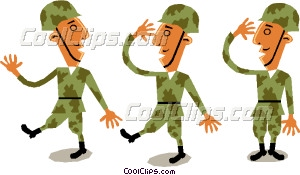 300x175 Troops Vector Clip Art