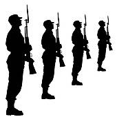 170x170 Army Clipart Marching