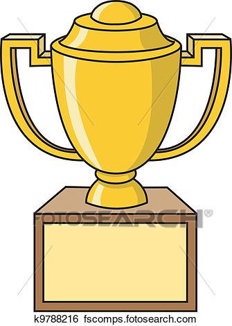 335x470 Clip Art Of Trophy Cup K9788216