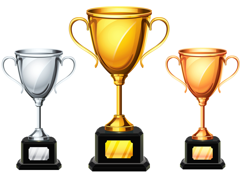 5528x3938 Trophy Clipart Medal Trophy