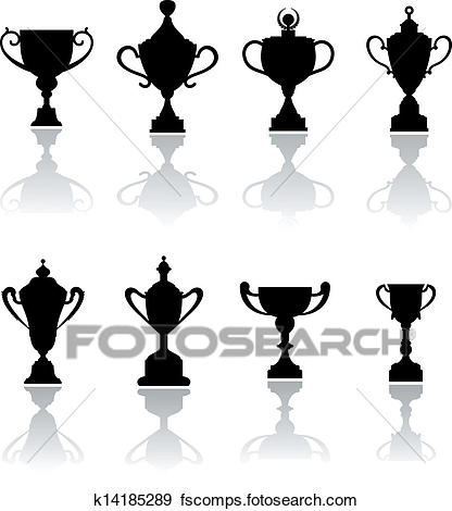 416x470 Clip Art Of Sport Trophies, Awards And Cups K14185289