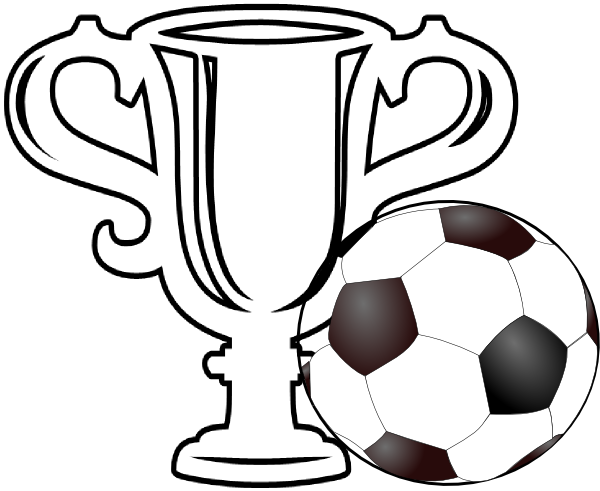 600x491 Drawing Clipart Trophy