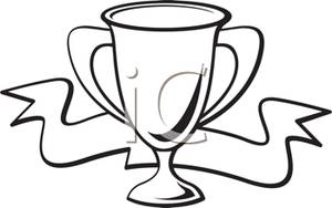 300x188 Ribbon And Trophy Cup