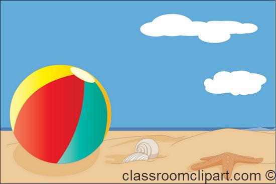 550x367 Tropical Beach Clip Art Free Beach Clipart Beach Ball Free Clip 2