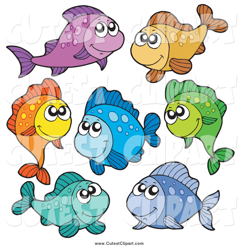 1024x1044 Vector Clip Art Of Colorful Tropical Fish By Visekart