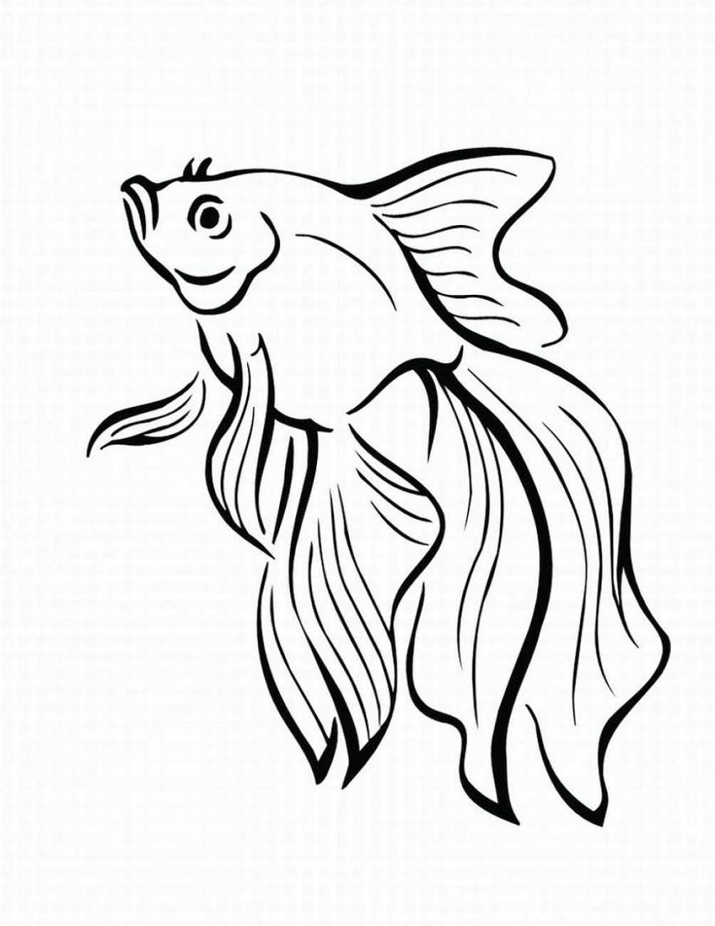 Tropical Fish Coloring Pages | Free download best Tropical Fish ...