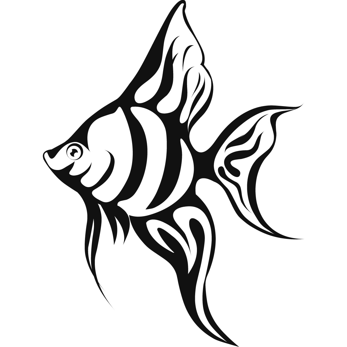 1200x1200 Tropical Fish Coloring Page Tropical Fish Coloring Pages