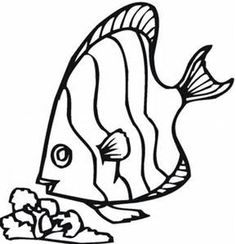 236x244 Tropical Fish Coloring Pages With Tropical Fish Coloring Pages