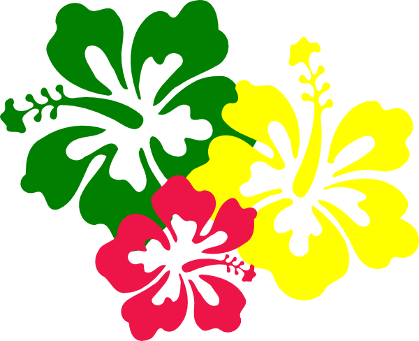 600x488 Yellow Flower Clipart Tropical Flower