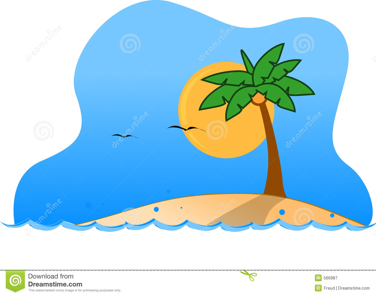 1300x1021 Island Clipart Tropical Island