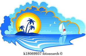 297x194 Tropical Island Clip Art Illustrations. 18,538 Tropical Island