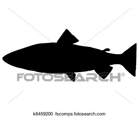 450x380 Trout Stock Illustrations. 418 Trout Clip Art Images And Royalty