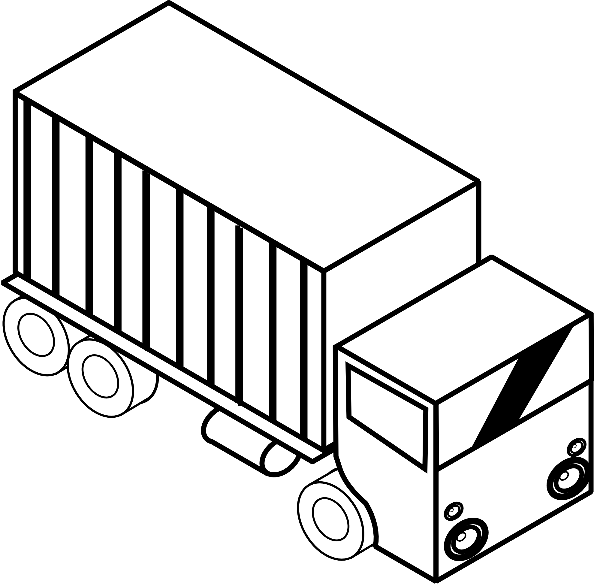 1979x1945 Pickup Truck Clipart Black And White Clipart Panda