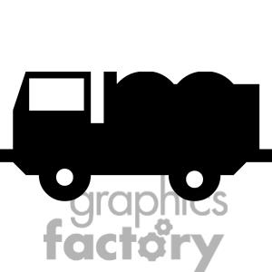 300x300 Semi Truck Clipart Black And White Clipart Panda