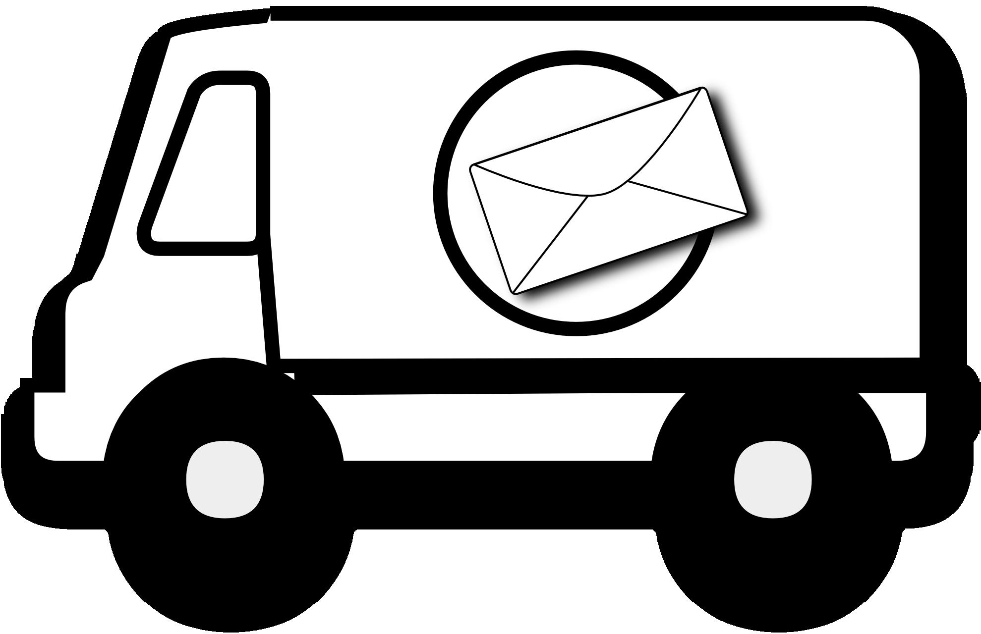 1979x1280 Car Clipart Mailman