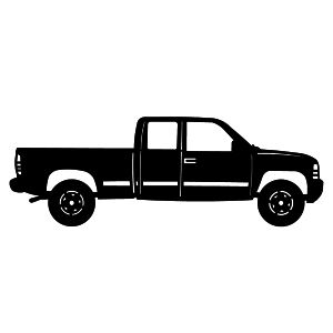 300x300 Clipart Pick Up Truck