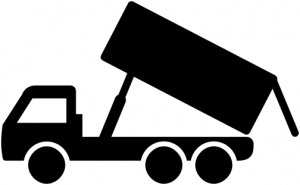300x185 Dump Truck Flag And Pole 2 Clip Art Download Image