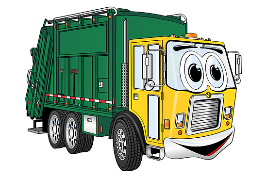 550x367 Garbage Truck Clipart
