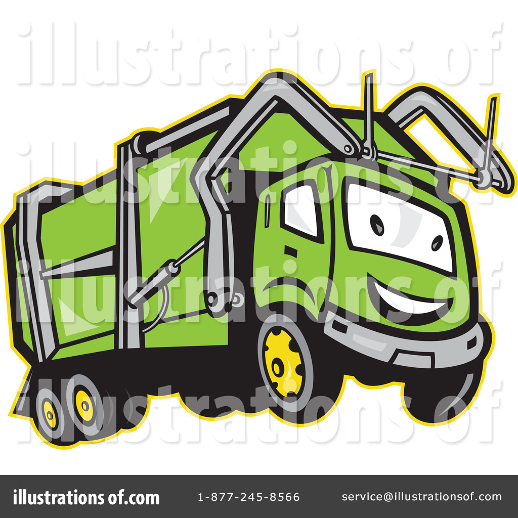 1024x1024 Garbage Trucks Clip Art