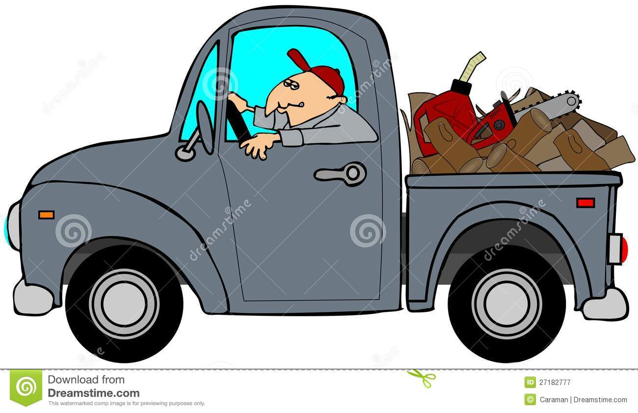 1300x841 Pickup Truck Cartoon Clipart