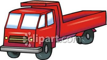 350x196 Royalty Free Clip Art Image An Empty Dump Truck