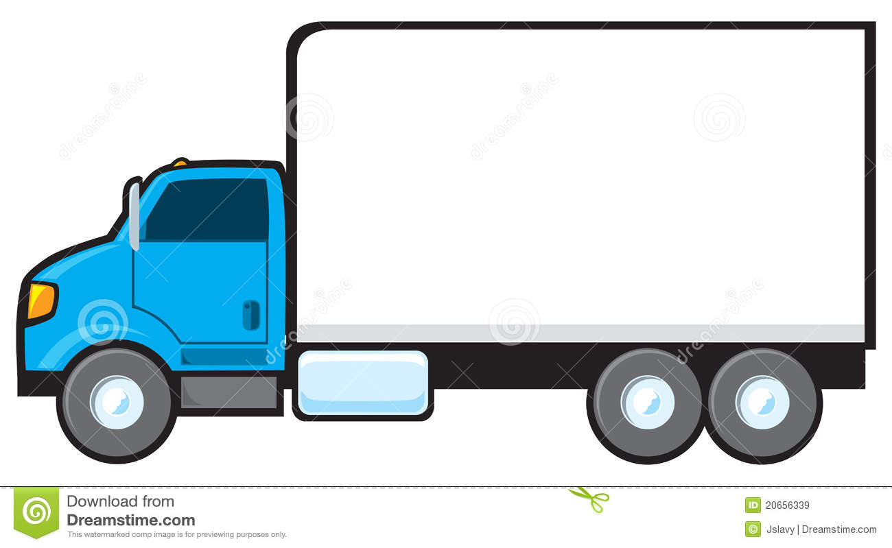1300x799 Box Clipart Delivery Truck