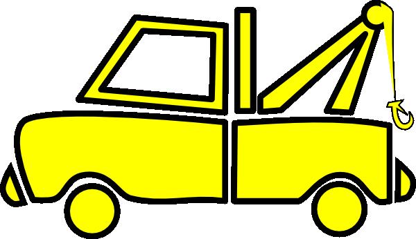 600x346 Truck Clipart Yellow Truck