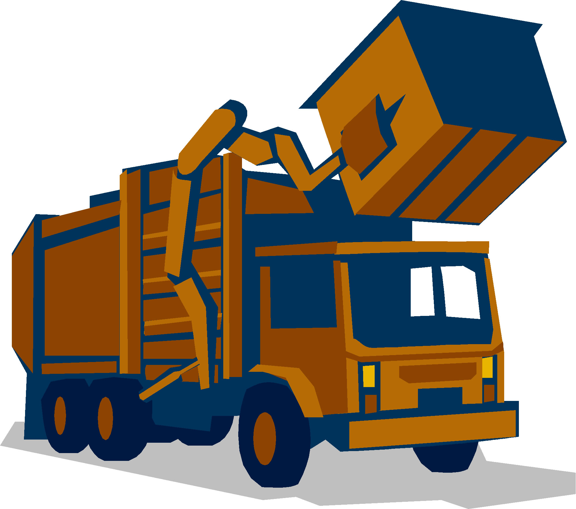1997x1766 Waste Truck Clipart Clipart