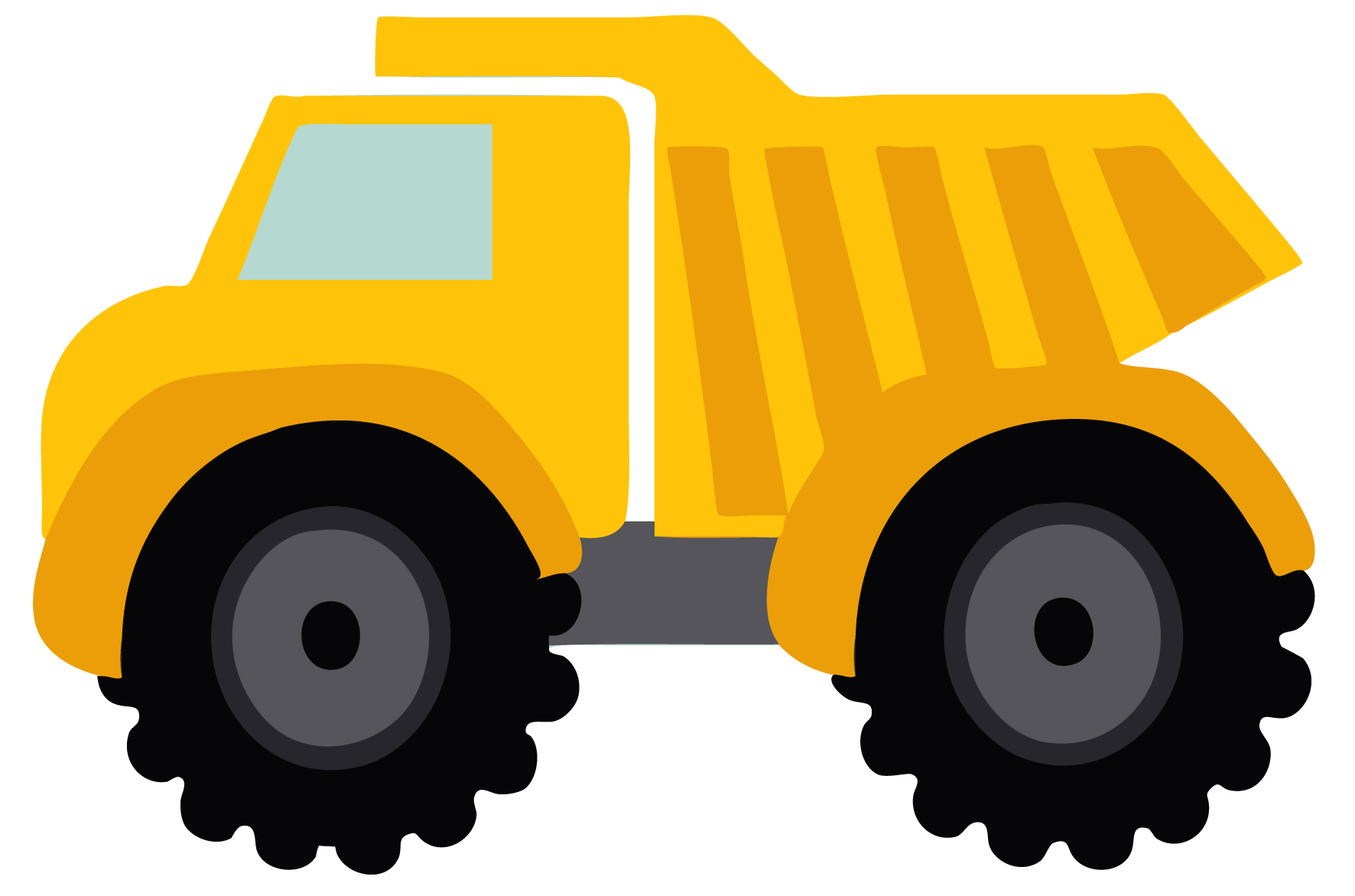 1772x1172 Dump Truck Clipart Black And White Free Clipart