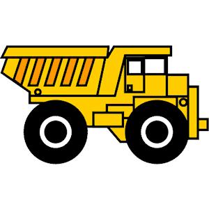 300x300 Dump Truck Cartoon Clipart