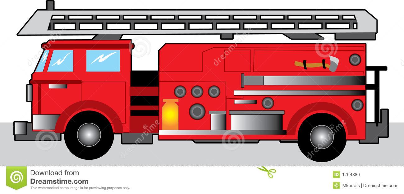 1300x623 Fire Truck Clipart