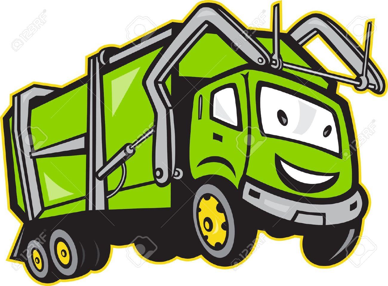 1300x957 Garbage Trucks Clip Art Clipart
