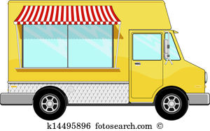 300x188 Retro Clipart Food Truck