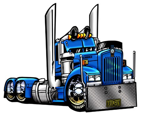 454x367 Semi Truck Clipart Free Images Image