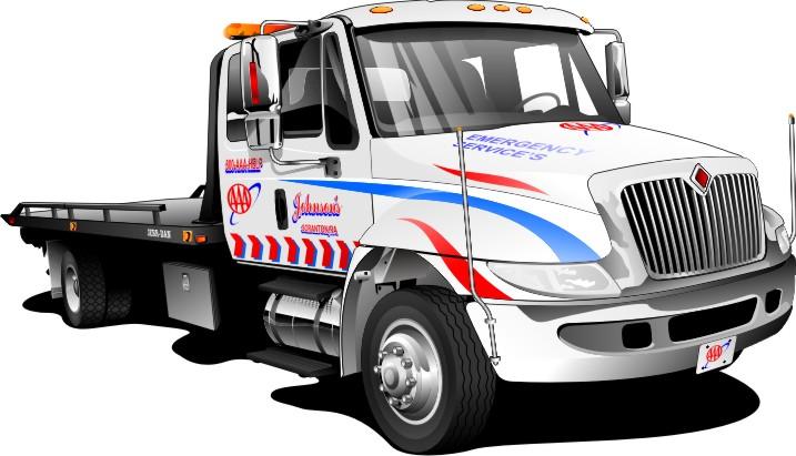717x411 Cartoon Tow Truck Free Download Clip Art On 3