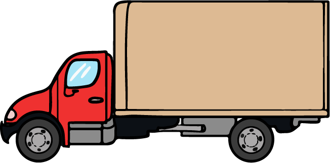 652x323 Truck And Trailer Clipart Kid