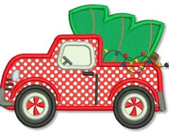 340x270 Christmas Truck Cliparts