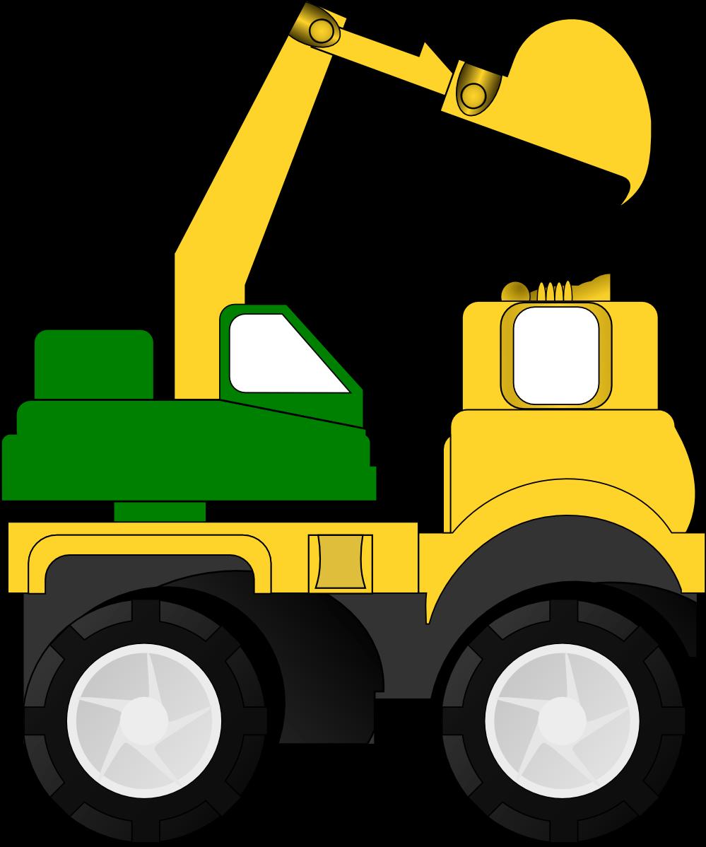 999x1198 Crane Truck Cliparts