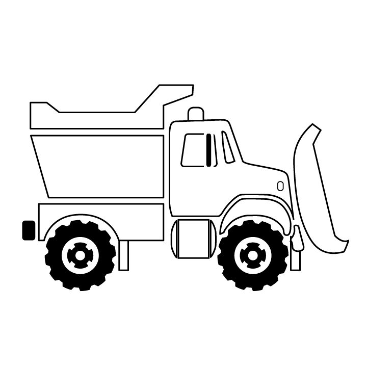 720x720 Best Truck Coloring Pages Ideas Transportation