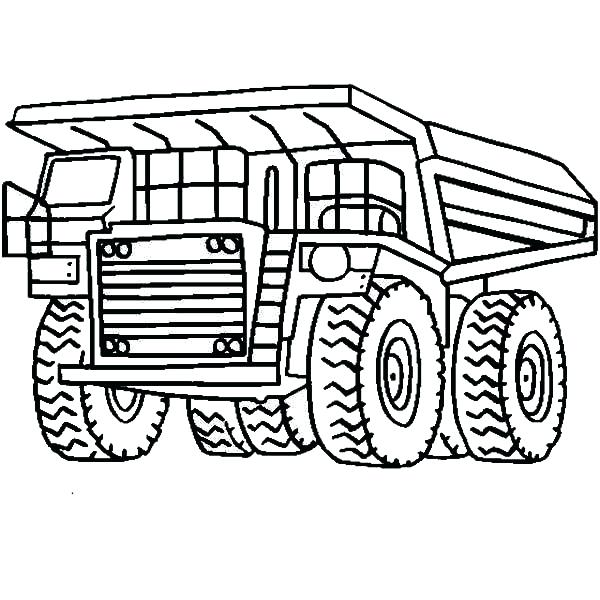 600x600 Garbage Truck Coloring Pages Nice Page Thaypiniphone