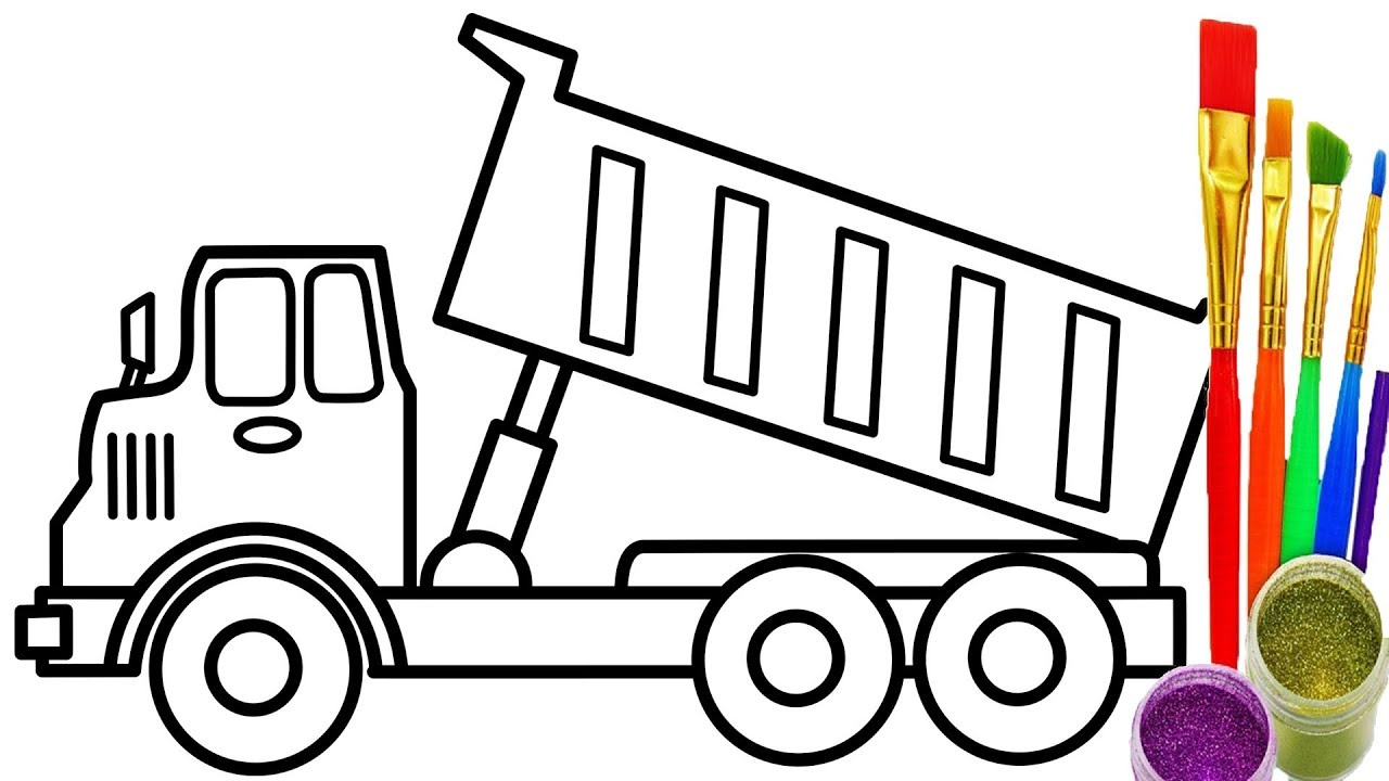 Truck Coloring Pages | Free download best Truck Coloring Pages on ...