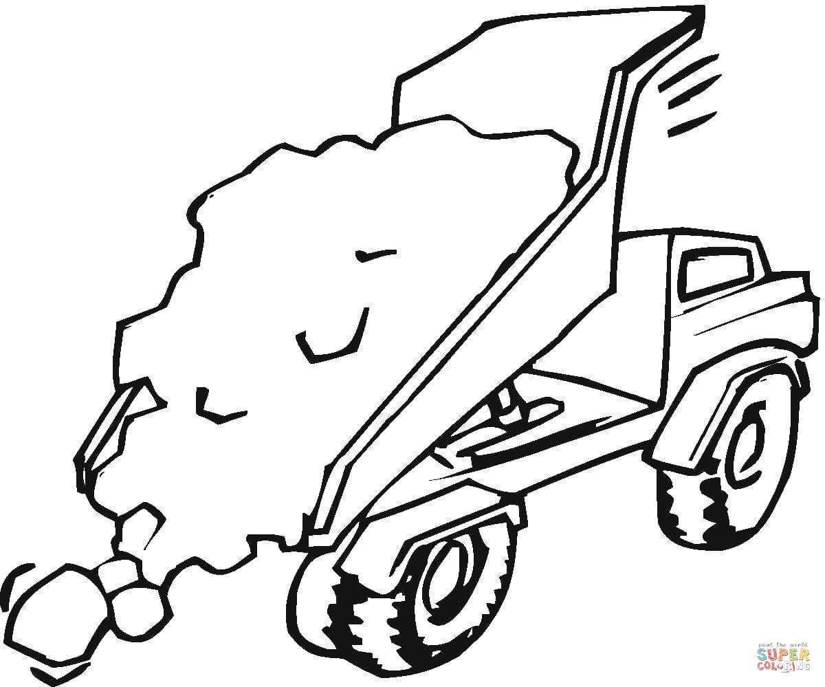 1200x999 Trucks Coloring Pages Free Coloring Pages