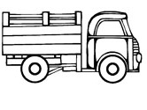 166x125 Truck Coloring Pages