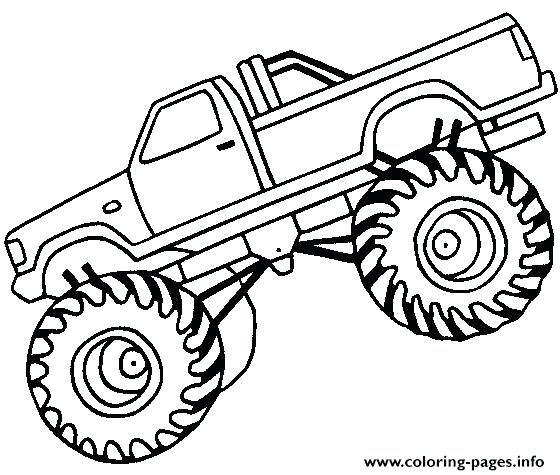 560x475 Truck Coloring Sheets